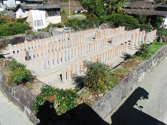 H24下岩官軍墓地修復後その3